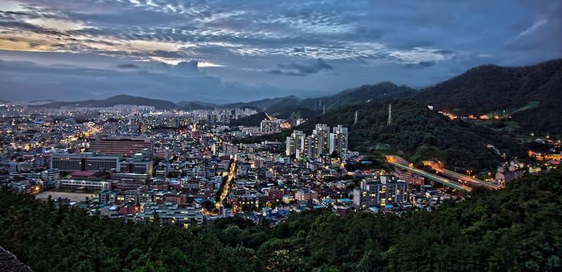 Thành phố Gwangju Hàn Quốc