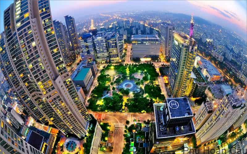 Thành phố Seoul Hàn Quốc - thành phố đáng sống nhất Hàn Quốc