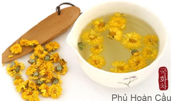 Trà hoa cúc Hàn Quốc