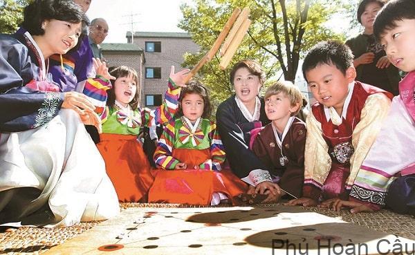 Trò chơi truyền thống của người Hàn