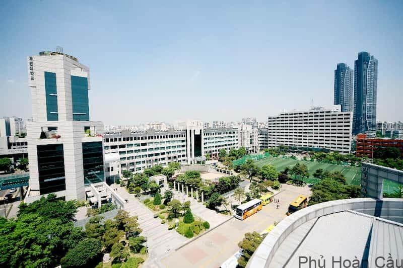 Trường đại học Bucheon Hàn Quốc (Bucheon University)
