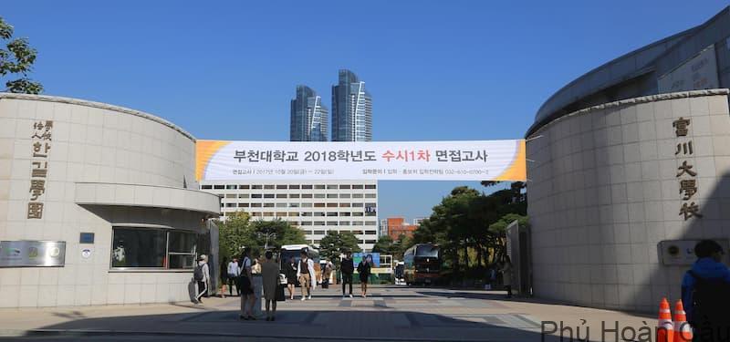 Trường đại học Bucheon Hàn Quốc tuyển sinh hàng năm
