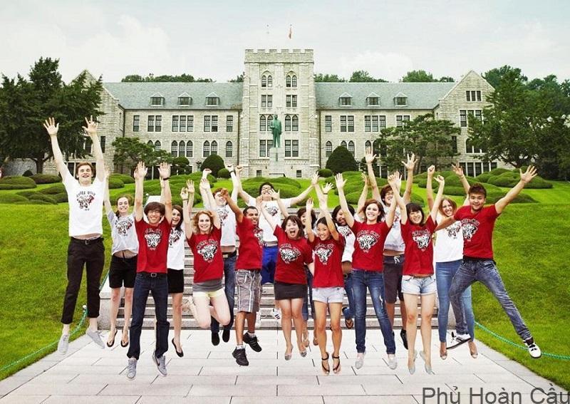 Hiện nay ở Hàn Quốc có nhiều trường nổi tiếng cho du học sinh theo học
