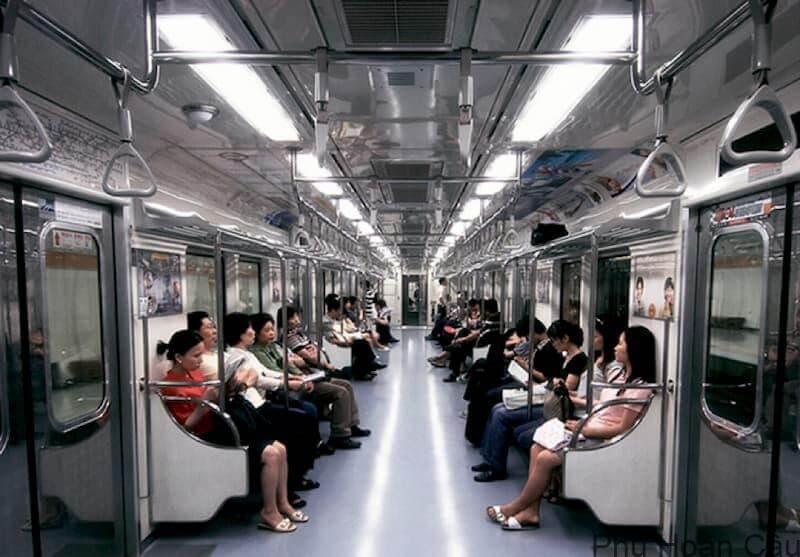 Cách sử dụng tàu điện ngầm