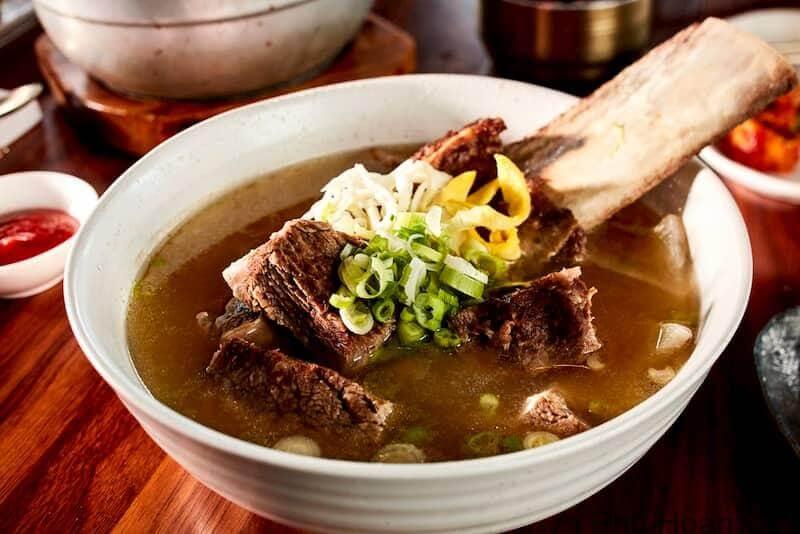 Canh sườn bò Hàn Quốc Galbitang - Top các món ăn ngon nhất Hàn Quốc