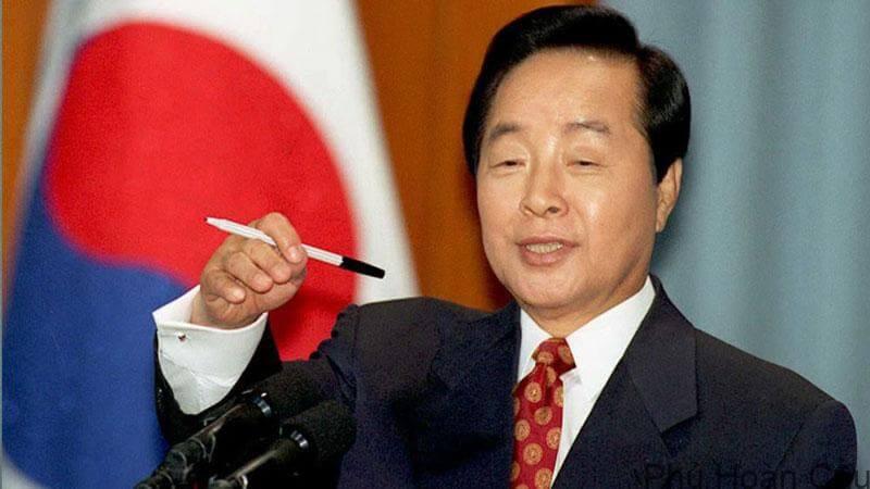 Cựu Tổng thống Hàn Quốc - Kim Young Sam