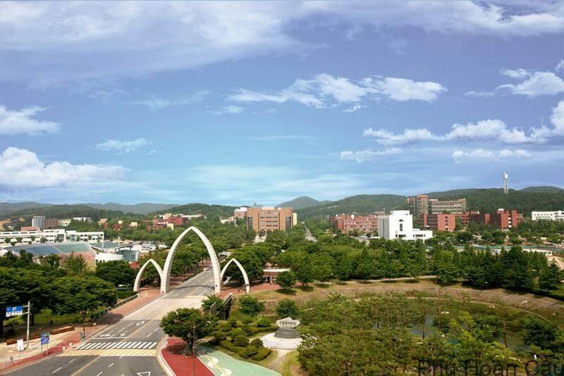 Đại học Gyeongsang vốn là đại học nông nghiệp Jinju ngày trước