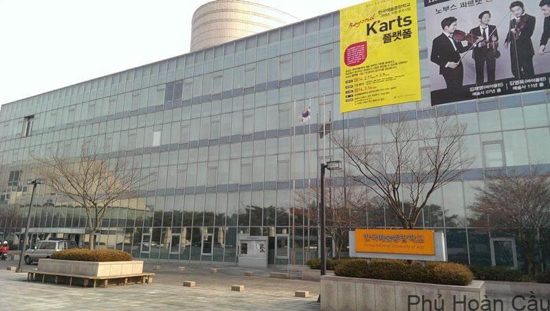 Đại học nghệ thuật quốc gia Seoul là ngôi trường danh giá