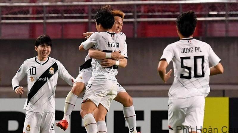 Gyeongnam FC tổng cộng đã tham gia 7 mùa giải cho thời điểm hiện tại