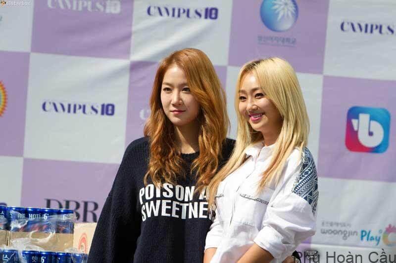 Hyorin và Soyoung của Sistar đều là cựu sinh viên của đại học nữ Hanyang