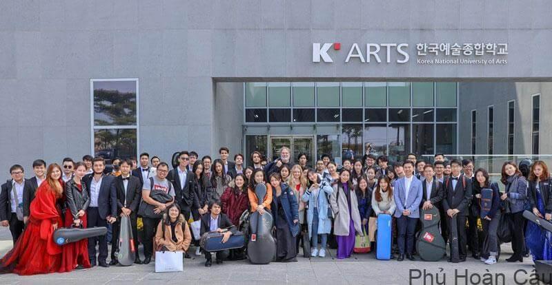 Rất nhiều nghệ sĩ nổi tiếng xứ Hàn là cựu sinh viên của trường