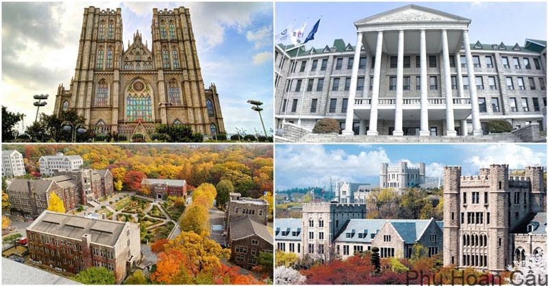Top đại học Hàn Quốc chất lượng hàng đầu dành cho du học sinh quốc tế
