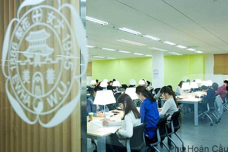 Trường đại học Ewha hiện đang đào tạo hàng chục chuyên ngành