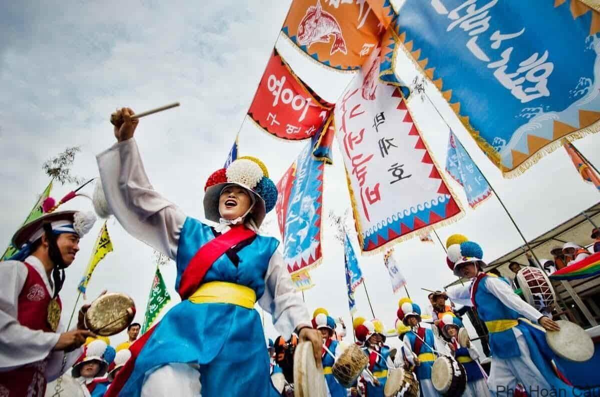 Văn hóa Hàn Quốc mang những nét riêng